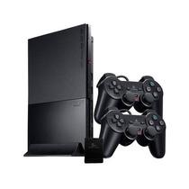Joystick Controle Sem Fio Wireless Para Ps2 Playstation 2