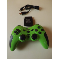 Joystick Controle Play 2/ Ps2 S/fio Bateria Recarregavel