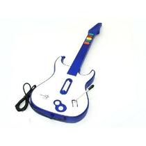 Guitarra Para Ps3 Ps2 E Pc Com Fio 3 Em 1 Pj028 Tecnoshow