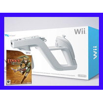 Wii Zapper Com Links Crossbow Training Pistola Nintendo Wii