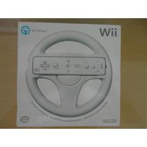 Volante Wii Nintendo Original Novo Lacrado Pronta Entrega