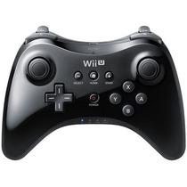 Controle Nintendo Wii U Pro Preto Original Pronta Entrega