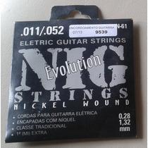 Jogo De Cordas Nig Guitarra 0.11 (aceito Trocas)