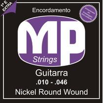 Paganini Jogo De Corda Guitarra .010-.046 Nickel Round Wound