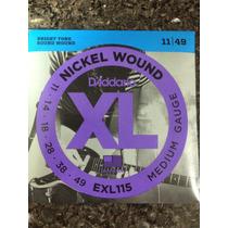 Encordoamento Daddario Exl115 (0.11) Nickel Wound