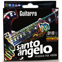 Encordoamento P/ Guitarra Santo Angelo 0.10 - Ec0049