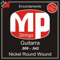 Paganini Jogo De Corda Guitarra .009-.042 Nickel Round Wound