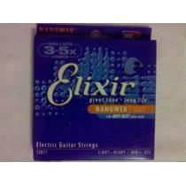 Encordoamento Elixir Nanoweb 0.10 / Light - Heavy