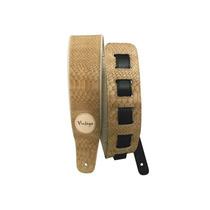 Correia Basso Vintage Vt-sl22 Croco Bege Guitarra / Baixo