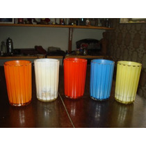 Copos Coloridos - Conjunto De 5 Peças Kopal
