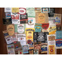 Conjunto De 50 Rótulos De Whisky Antigos - Originais!