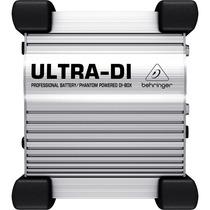 Direct Box Ativo Behringer Di100 Ultra 6 Meses De Garantia