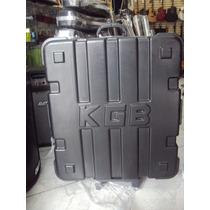Estojo Case Acordeon 120 E 80 Baixos Super Kgb C/rodinha