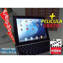 Apple Capa + Teclado Aluminio S Fio Para Ipad 2, 3+ Pelicula
