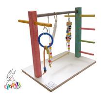 Playground Parquinho Mini Para Calopsitas E Outras Aves!