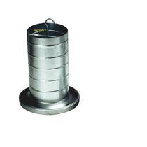 Comedouro Tubular 3 Kg Galvanizado E Alumínio Durável