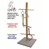 Playground Parquinho Pedestal Grande Natural Calopsitas!