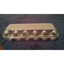 Embalagem Plástica Para 12 Ovos De Galinha (100 Unidades)