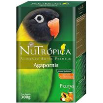 Ração P/ Agapornis De Alta Qualidade Nutrópica Super Premium