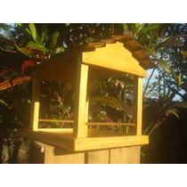 Comedouro & Alimentador Para Pássaros Spazio