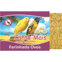 Alimento Ração Farinhada Ovos Para Pássaros Canta Mais 10kg