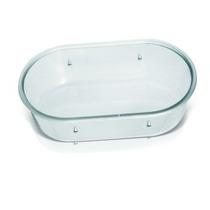 Banheira Oval Cristal Pequena Pet Shop Pacote 12 Unidades