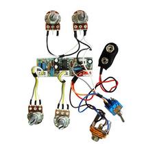 Kit Pré-amplificador Circuito Ativo P/ Baixo- Cp500vvbt-sw
