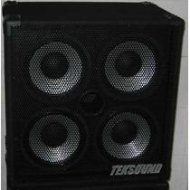 Caixa Teksound 4x10 P/ Contra Baixo(cone Alumínio) - Tk410a