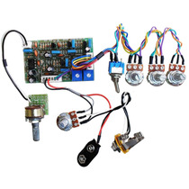 Kit Pré-amplificador Circuito Ativo P/ Baixo- Cp700vbbmtsc