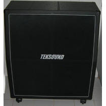 Caixa Teksound 4x12 Angulada Para Guitarra - Tk412ca