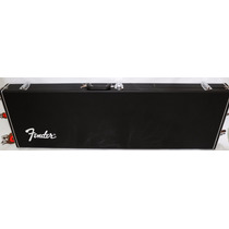 Hard Case Contrabaixo Baixo Deluxe Fender Quadrado + Brinde