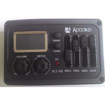 Pré Amplificador Para Violão Klt-9b