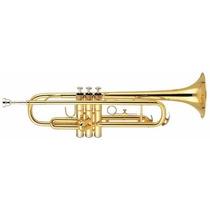 Trompete Dolphin Em Sib Laqueado 4350 C/ Estojo