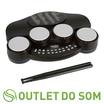 Bateria Eletrônica Medeli Dd-302/26 Sons/49 Musicas/baquetas