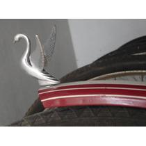 Enfeite De Alumínio P/ Bicicleta Antiga - Andorinha Com Asas