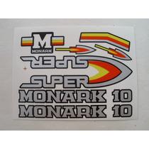 *** Adesivos Monark 10 Super C/ Frete Grátis ***