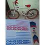 Adesivos Caloi Cruiser Light Cross - Padrão Sr. Extra Light