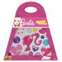 Miçanga E Bolsinha Média Coração Barbie - Fun