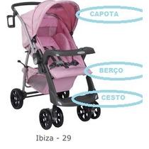 Capa P/ Carrinho De Bebê At6 Ou At2 Burigotto Cor- Ibiza