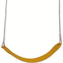 Balanco Infantil Com Cordas Em Plástico Flexível Amarelo