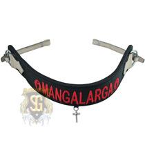 Peitoral Neoprene Bordado Mangalarga Inox 5750 - Sg