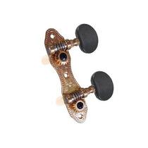 Tarraxa Rozini Para Cavaco / Banjo (dourada / Botão Escuro)