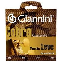 Encordoamento Para Cavaco Giannini Cc82l Tensao Leve 04353