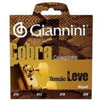 Encordoamento P/ Cavaco Giannini Gescl, Cobra, Leve 01639
