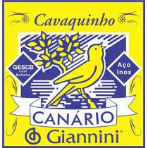Encordoamento Canário Para Cavaco C. Bolinha Caixa Com 12