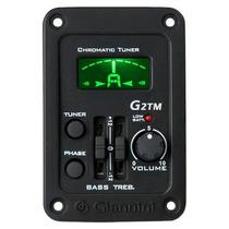 Equalizador 2 Bandas C/ Afinador Para Cavaco Giannini G2tmc