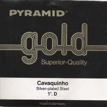 Encordoamento Para Cavaco Cavaquinho Pyramid Gold