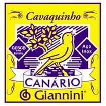 Encordoamento Canário C/ Bolinha Cavaco - Gescb Frete 10,00