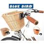 Cesta Em Vime Natural, Com Engate Rápido, 5kg - Blue Bird