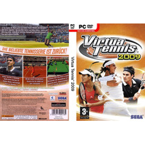 Virtua Tennis 2009 Pc Dvd Rom Novo